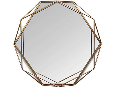 Derby Round Wall Mirror, , large