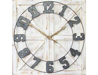 Lincoln Farmhouse Wall Clock, , large