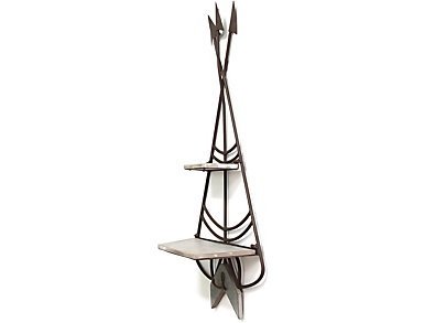 Teepee Shelf & Hook Wall Decor, , large