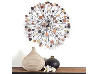Colorful Starburst Wall Decor, , large