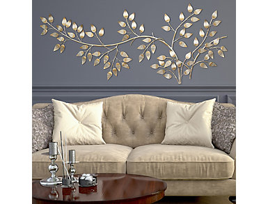 Flowing Leaves Wall Decor, , large