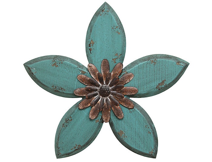 Antique Flower Wall Decor, , large