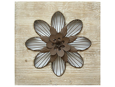 Rustic Flower Wall Decor, , large