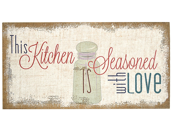 Seasoned with Burlap Wall Art, , large