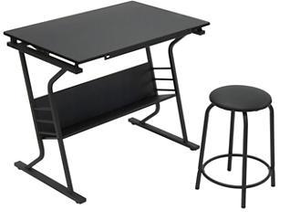 Jada 2pc Drafting Table Set, , large