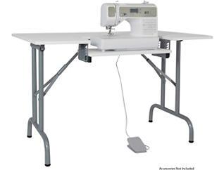 Murphy Folding Sewing Table, , large