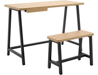 Oakland 2pc Desk & Chair Set, , large