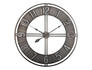 """Irvin 30"""" Smoke Wall Clock, , large"""