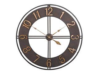 "Irvin 30"" Bronze Wall Clock, , large"