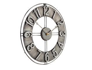 """Irvin 15"""" Smoke Wall Clock, , large"""