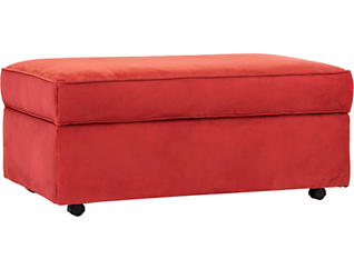 Elle IV Rectangle Storage Ottoman, , large