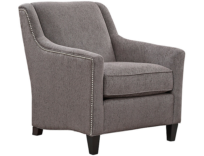 Elle III Accent Chair, Grey