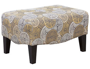 Serena III Accent Ottoman, , large