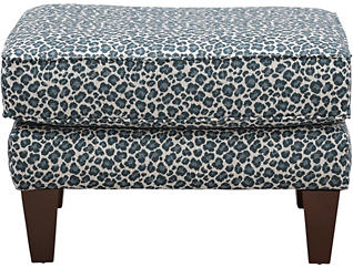 Diamond Accent Ottoman, , large