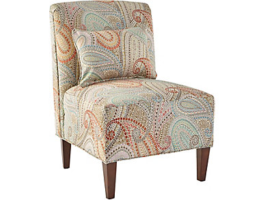 Elle-IV Armless Accent Chair, , large