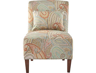 Elle IV Armless Accent Chair, , large