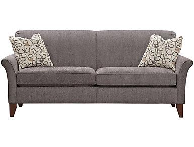 Elle III Sofa, Grey, , large