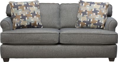 Alexander Sofa, Blue/Grey, swatch
