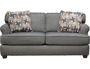 Alexander Apartment Sofa, Blue/Grey, Blue/Grey, large