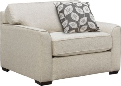 Willow Swivel Accent Chair, Taupe, swatch