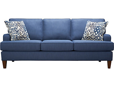 Giselle-III Sofa, Blue, , large