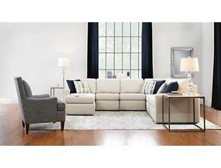 Evie Armless Chair, , large