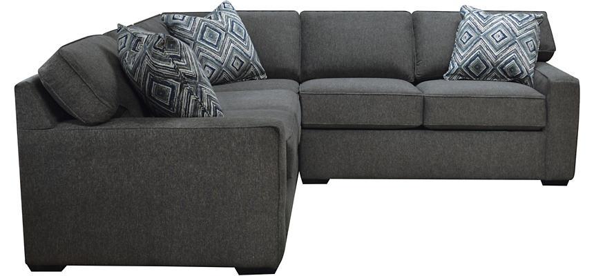 Diamond 2 Piece Left Arm Facing Corner Sofa Sectional
