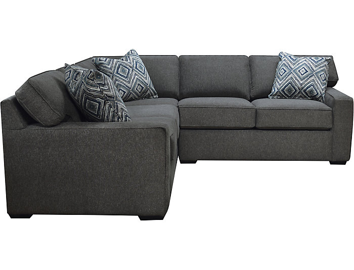 Diamond 2 Piece Left-Arm Facing Corner Sofa Sectional