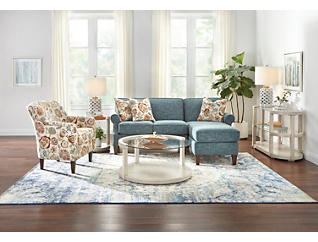 Chloe III 2 Piece Right-Arm Facing Chaise Sectional, , large