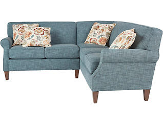 Chloe III 2 Piece Left-Arm Facing Loveseat Sectional, , large