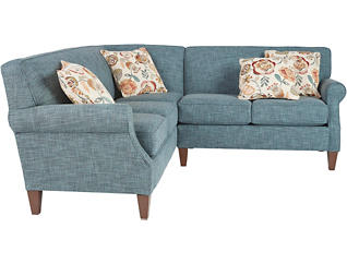 Chloe III 2 Piece Right-Arm Facing Loveseat Sectional, , large