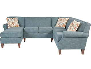 Chloe III 3 Piece Left-Arm Facing Chaise Sectional, , large
