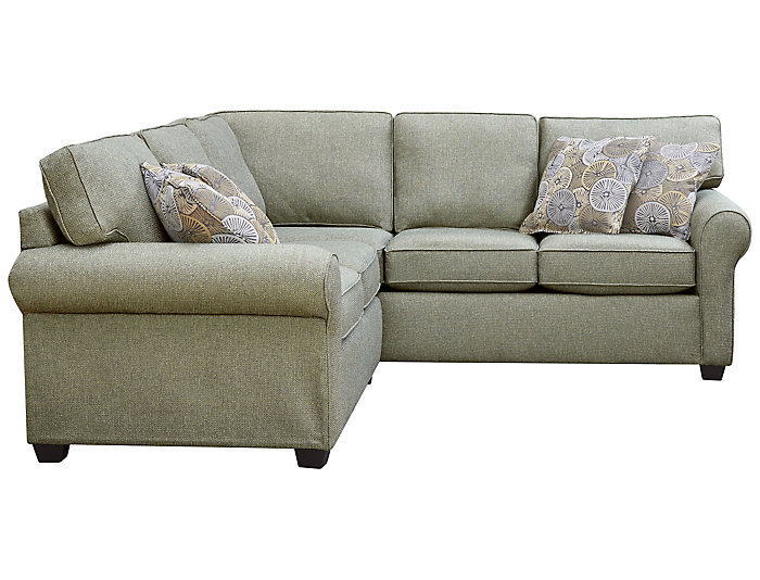 Serena III 2 Piece Right-Arm Facing Corner Sofa Sectional, Brown, , large