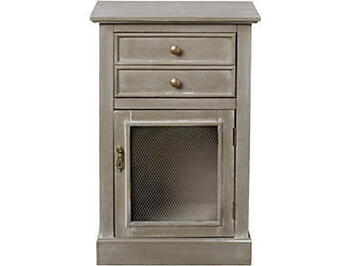 Single Drawer Cabinet-Gray, , large