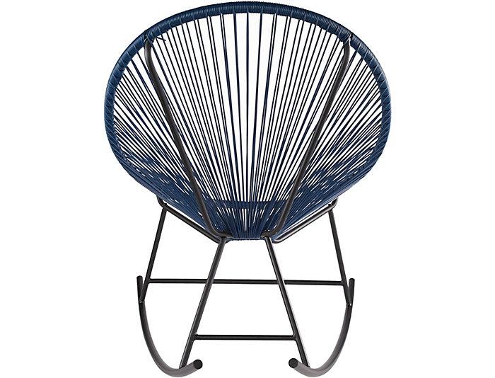 Attirant String Outdoor Rocker Chair