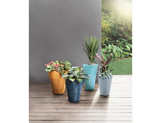 Round Flower Pot, Small, , large
