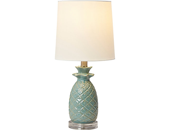 Blue Pinele Lamp Home Decorating