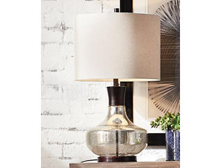 Alamos Glass Table Lamp, , large