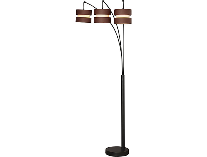 Arch 3 Shade Floor Lamp Large