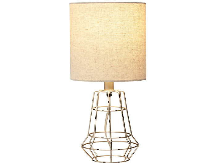 Painted Brush Steel Table Lamp, , large
