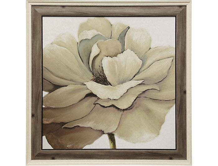 Textured Floral Framed Print, , large