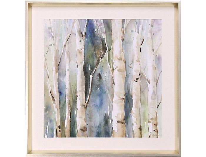 Birch Trees Wall Art I | Art Van Home