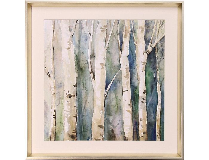 Birch Trees Wall Art II | Art Van Home
