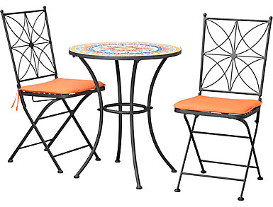 3 Piece Multi Bistro Set, , large