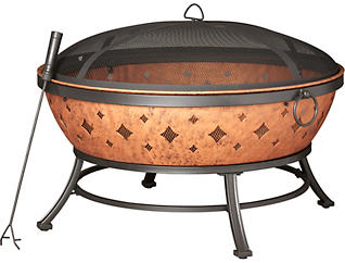 Anton Wood Burning Firepit, , large