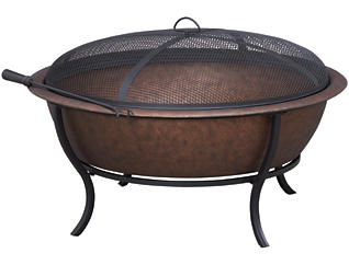 Autry Wood Burning Firepit, , large