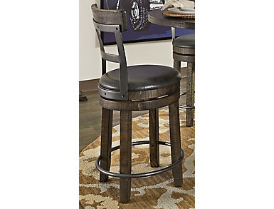 Homestead Stool with Back, , large