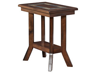 Dunhaven Chairside Table, Brown, , large