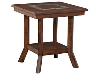 Dunhaven End Table, Brown, , large