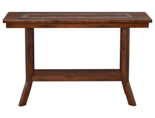 Dunhaven Sofa Table, Brown, , large